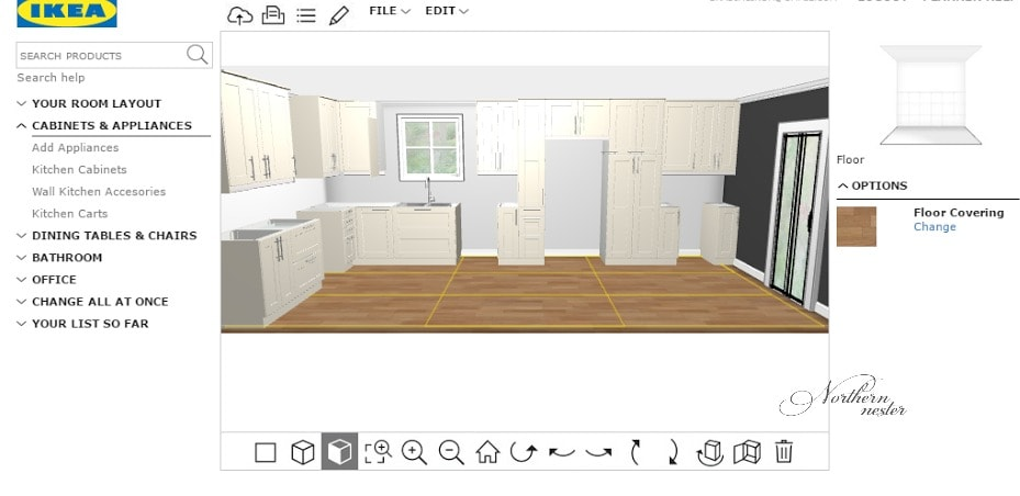 Design Your Own Kitchen Planner