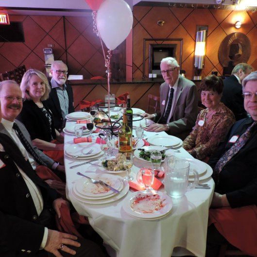 "NOOL ""Vienna, City Of My Dreams"". Our table, L-R: Myself Greg Polyak, Bill Bowers, Sue & Dave, Glenn & Jenny Brown, Randy Fusco."