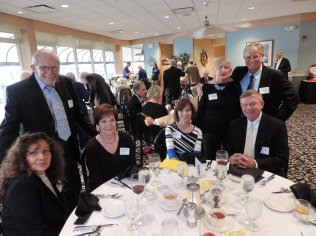 NOOL's (Northern Ohio Opera League), Dinner and Dancing at the Lakeside Yacht Club.