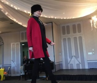 Fashion Show at Landerhaven - The Red Line