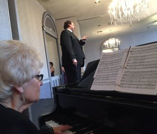 Tim Culver, Tenor, Marcia Snavely, Piano