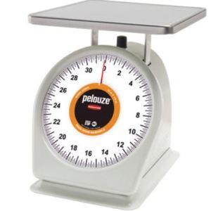 Rubbermaid/Pelouze 2lbs Portion Dial Scale w/Quickstop SW0005
