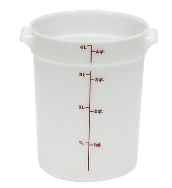 4 QT. Round Storage Container SW0521