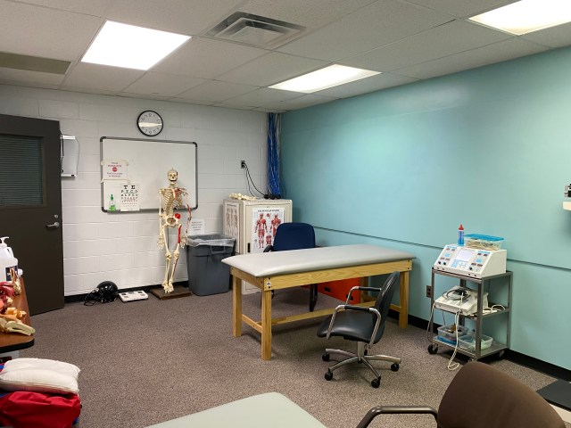 First clinical room