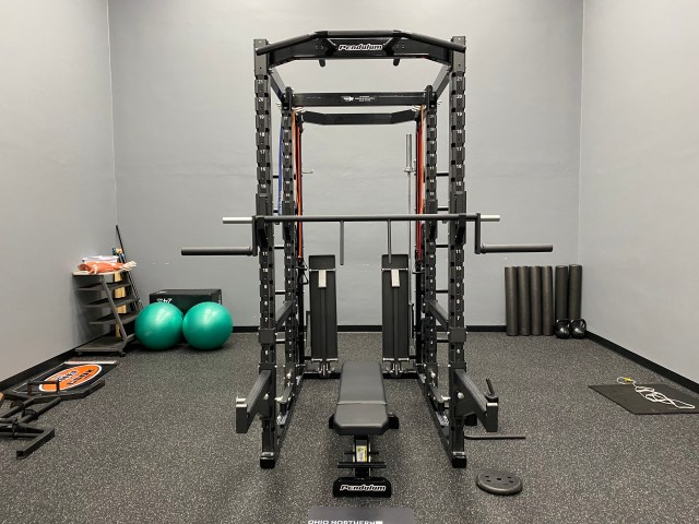 New state-of-the-art rack and strength equipment.