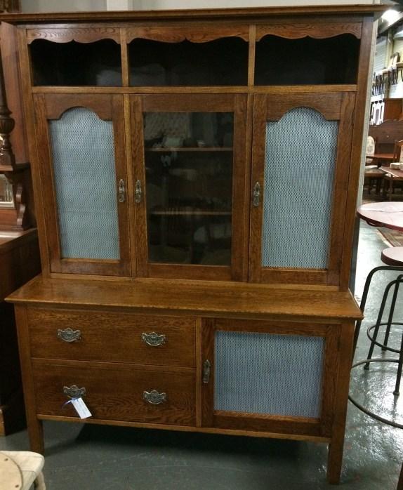 Northern Rivers Antiques - 1920's Oak Kitchen Dresser