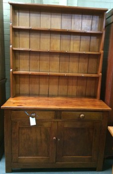 Northern Rivers Antiques - 1905 Kauri Pine Kitchen Dresser