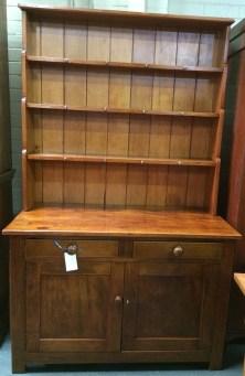 Northern Rivers Antiques - 1905 Kauri Pine Kitchen Dresser