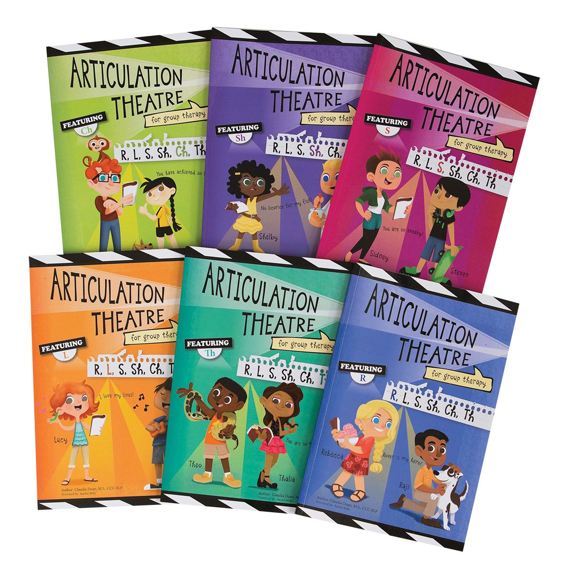 Rms Amp Articulation Theatre Books Combo