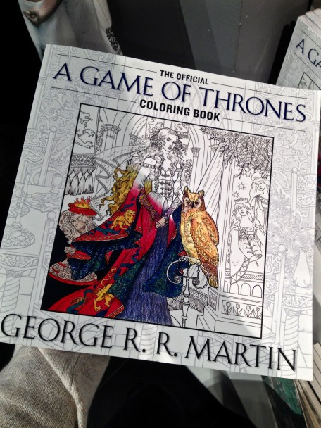 A GoT colouring book?!