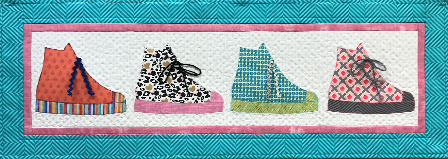 High Tops with Borders Row by Row Junior