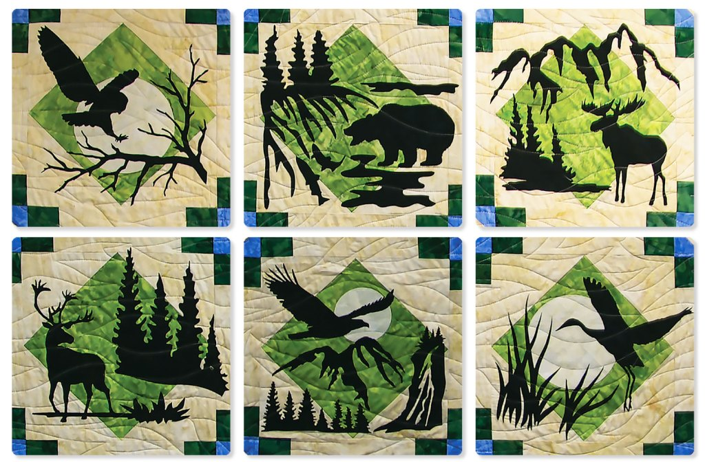 Wildwood Applique Blocks by Marie Noah