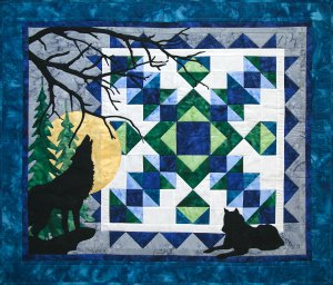 Wolf Song Quilt Kit by Marie Noah