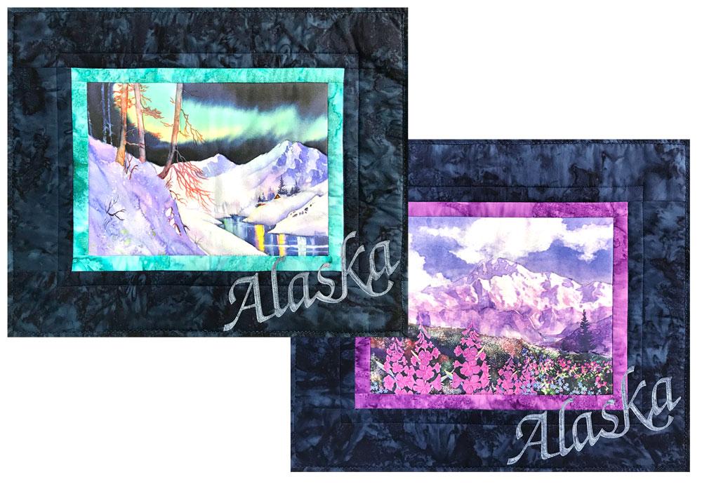 Teresa Ascone Fabric Art Panels