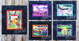Teresa Ascone Fabric Art Panels