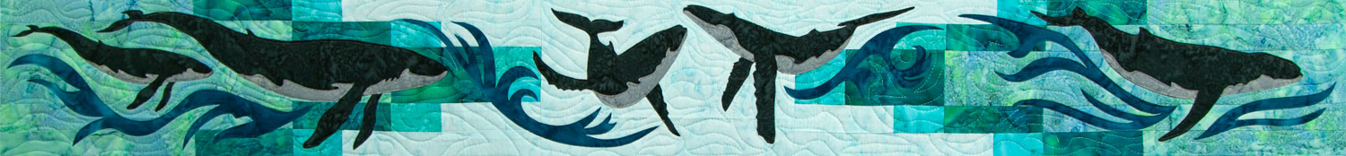 Whale Dance 2018 Row by Row by Marie Noah