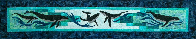 Whale Dance Row by Row 2018 by Marie Noah