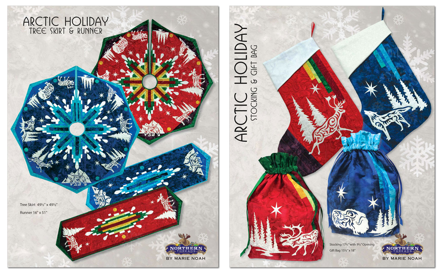 Arctic Holiday Patterns by Marie Noah