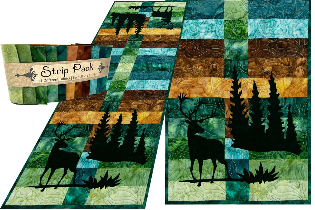 Wildwood Caribou Laser Cut Applique Set by Marie Noah