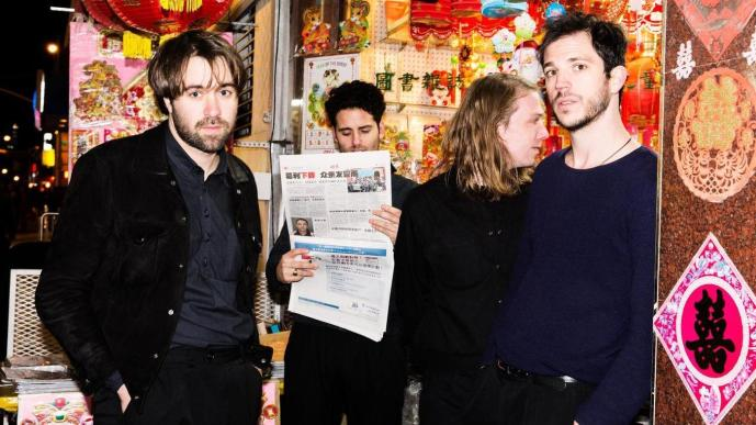 """The Vaccines single """"Strangers"""" has been remixed by Brooklyn's very own Charlie Klarsfeld."""
