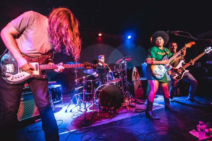 Review of Seratones' show in New York City by Alice Severin