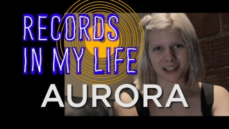 Aurora, Guests on 'Records In My Life'. The singer/songwriter talked about some pretty important records in her life.