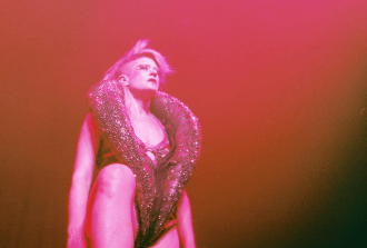Interview with Peaches by Brit Bachmann. Peaches, is in the midst of a North American tour