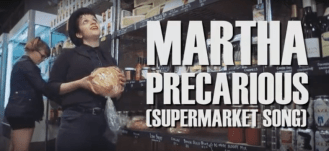 "Northern Transmissions' 'Video of the Day' is ""Precarious (Supermarket Song)"" by Martha, taken from the new album 'Blisters In The Pit Of My Heart' out now on Dirtnap Records"