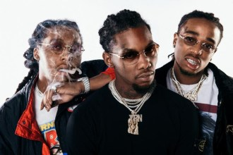 "Migos drops new video for ""Deadz"", featuring 2 Chainz."