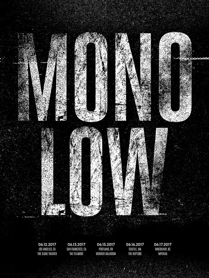 Low announce new tour dates with MONO.