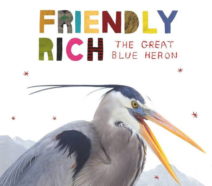 Friendly Rich streams his new full-length 'The Great Blue Heron'