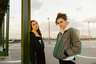 """Let's Eat Grandma have released Baths remix of their single """"I Will Be Waiting""""."""