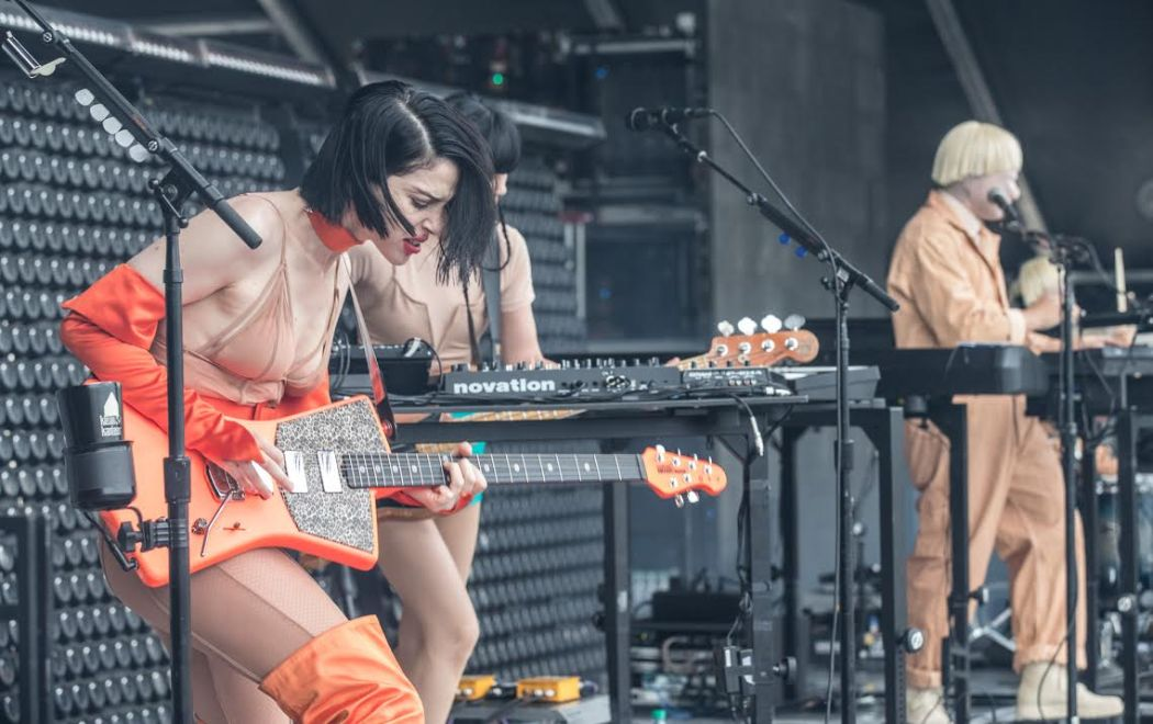 St. Vincent wows the crowd at Osheaga 2018