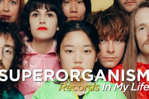 Superorganism guest on 'Records In My Life'