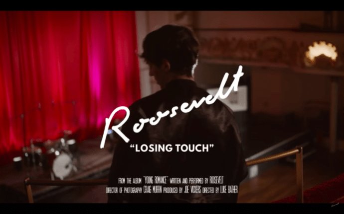"Roosevelt shares shares new video for ""Losing Touch."" The track is off the artists current City slang/ Chris Coady produced album 'Young Romance.'"