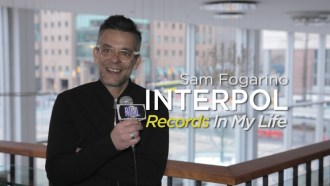 Interpol drummer Sam Fogarino joined us before their show in Vancouver