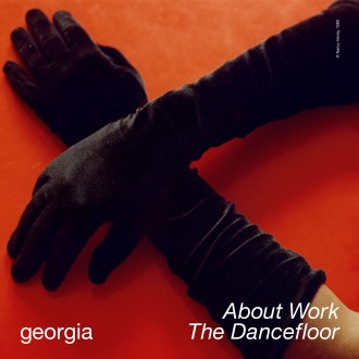 """Georgia Shares single and visual for """"About Work The Dancefloor""""."""
