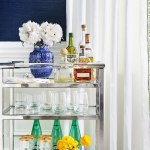 How To Style A Bar Cart Like A Professional