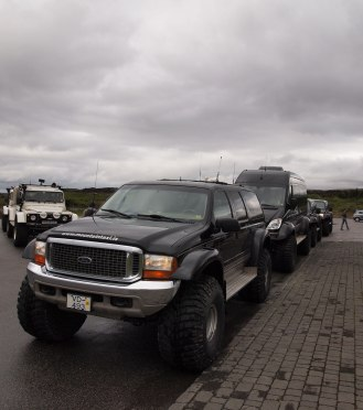 Icelanders love their suvs