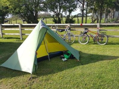 Camping near Pocky