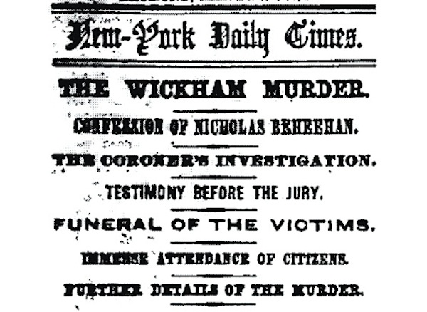 Wickham murders exhibit