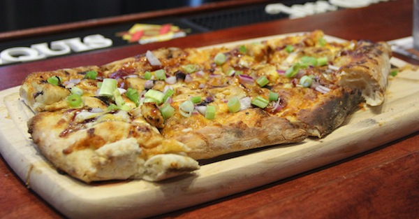 Photo by Cyndi Murray | Flat bread pizza at The All Star