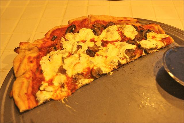 rustic farmstand pizza