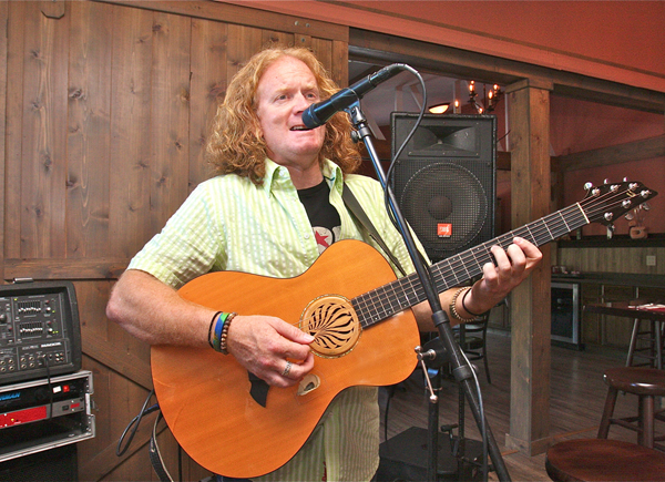 Photo by Barbaraellen Koch | Walter Finley will perform at the North Fork Tasting Room on Friday July 5.