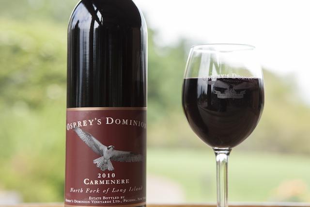 long island wine press carmenere ospreys dominion