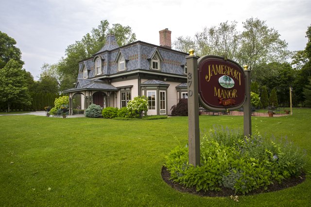 Jamesport Manor Inn in Jamesport.