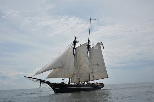 Amistad will dock in Greenport on Father's Day weekend. (Discovering Amistad courtesy photo)