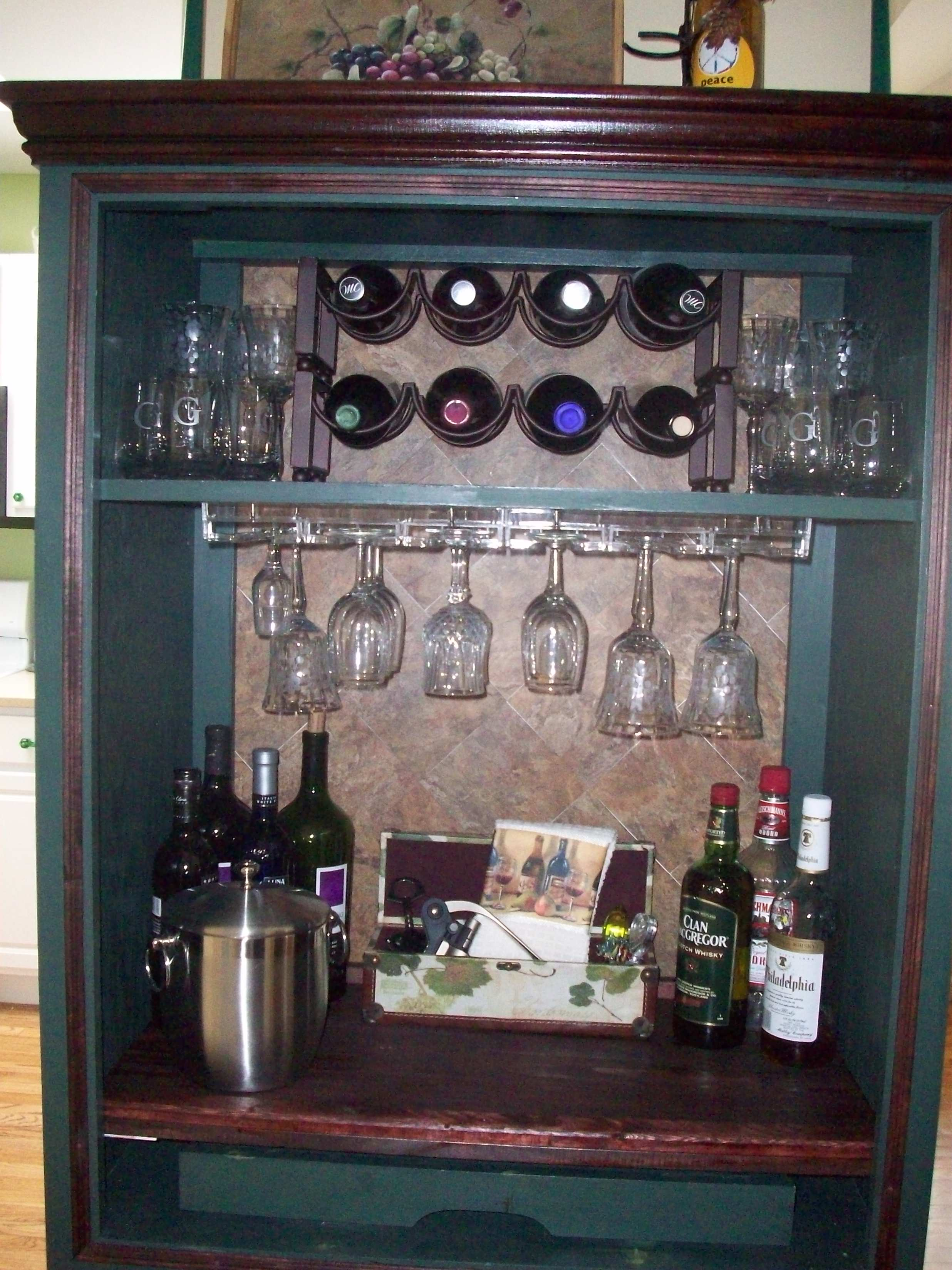 Repurpose Old TV Armoire North Fork Staged To Sell