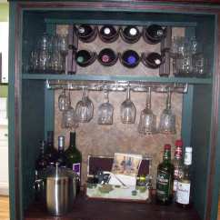 Kitchen Counter Organizer And Bath Showroom Repurpose Old Tv Armoire | North Fork Staged To Sell