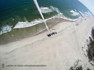 300 feet above Ocracoke, NC